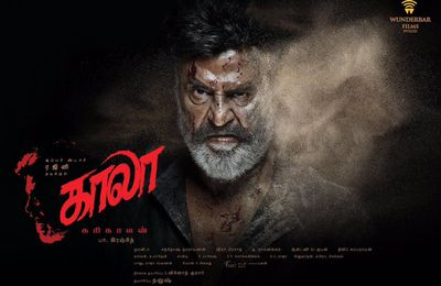 "SUPERSTAR RAJNIKANTH ""KAALA"" FIRST LOOK POSTERS !"
