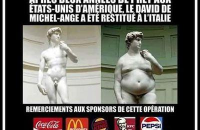 Le David de Michel Ange a grossi