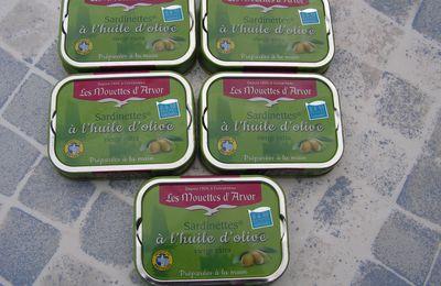 Partenariat : Sardinettes à l'huile d'olive vierge extra