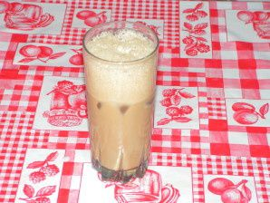 Café-chicoré frappé miel