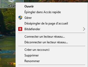Restaurer un point de restauration système sous Windows 10