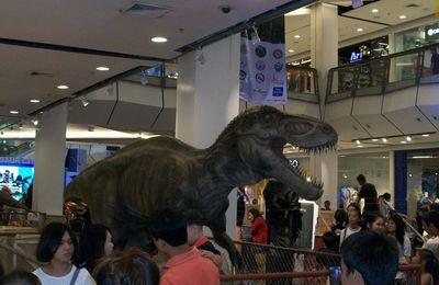 expo dinosaures au central Plazza de Khon kaen