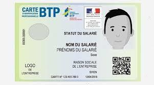 La carte d'identification des salariés du BTP est désormais obligatoire sur les chantiers