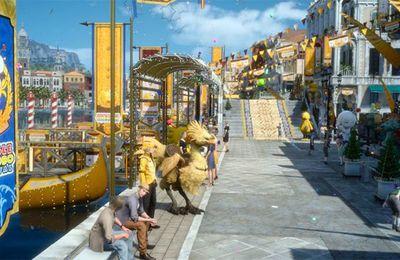 jeux video: Découvrez le carnaval Moogle Chocobo dans Final Fantasy XV !
