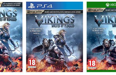 Jeux video : Vikings Wolves of Midgard disponible !