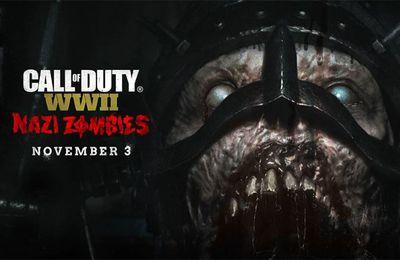 Nazi Zombies - L'horreur a un nouveau visage dans Call of Duty : WW II ! #Activision