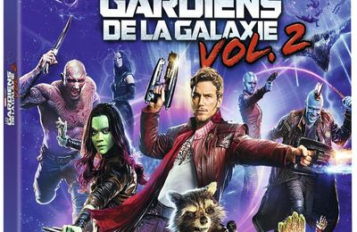 #BLURAY #HDR : LES GARDIENS DE LA GALAXIE VOLUME 2 EN FORMAT 4K ULTRA HD !