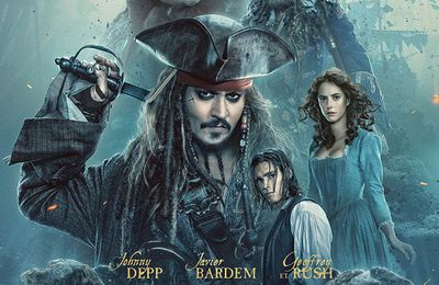 #Bluray #Disney : PIRATES DES CARAÏBES : LA VENGEANCE DE SALAZAR :  le 21 septembre !