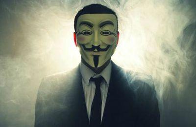 #Buzz: #Anonymous s'en prends aux racistes sur les réseaux sociaux !