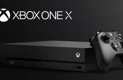 Xbox One X : La console la plus puissante au monde !