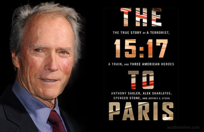 #Cinema : TOURNAGE DE THE 15:17 TO PARIS DE CLINT EASTWOOD !