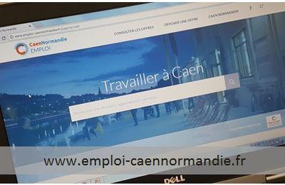 #Caen #normandie #emploi : Une plateforme pour l'emploi à Caen la mer !