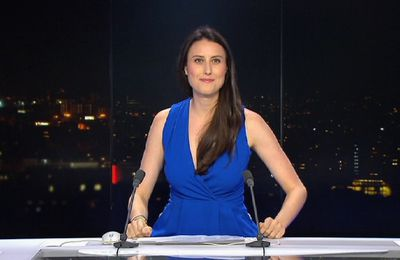 📸21 AUDE LECHRIST ce soir @FRANCE24 @France24_fr pour PARIS DIRECT #vuesalatele