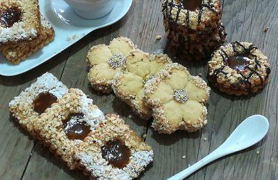 Sablés fondants aux cacahuètes et miel