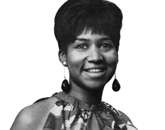 "aretha franklin, une chanteuse américaine renommée de gospel, soul, funk, rythm and blues et jazz, pianiste et surnommée ""queen of the soul"" ou encore ""lady soul"""