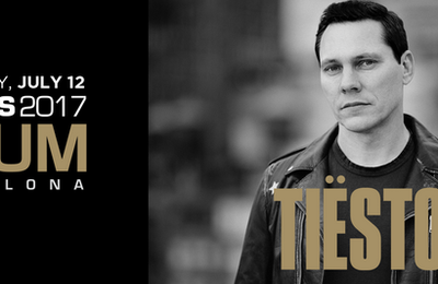 Tiësto date | Wedj's at Opium Barcelona | Barcelona, Spain - July 12, 2017