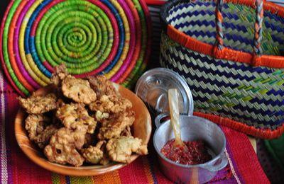 Mofo anana, beignets de brèdes comme à Madagascar