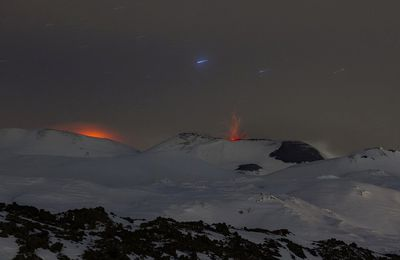 Activity of Etna, Colima and Sabancaya.