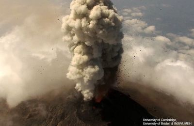 Activity of Fuego, Poas, Piton of La Fournaise and Sinabung