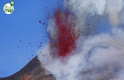 Eruptions of Etna and Ebeko.