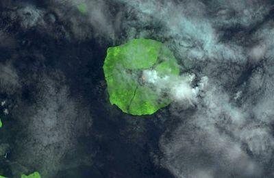 Activité au Manam, Sakurajima, Nishinoshima, Etna, Poas et Turrialba.