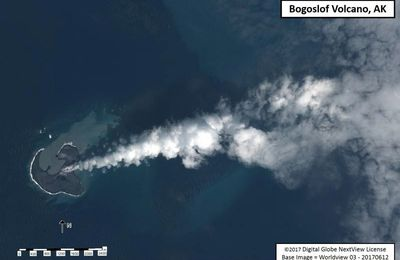 News from Bogoslof, Nishinoshima and Sinabung.