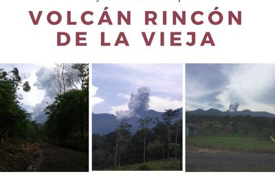 Eruptions at Rincon de La Vieja and Bogoslof.