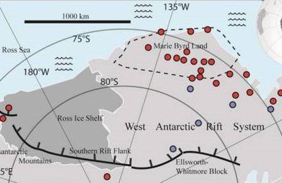 Découverte de 91 volcans et d'une nouvelle plaque tectonique?