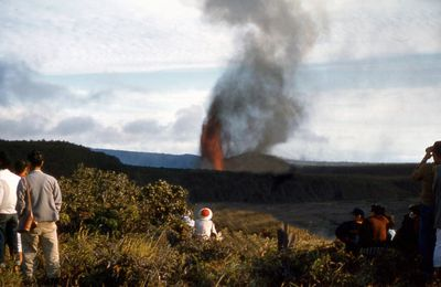 Eruption of Kilauea Iki in November 1959.