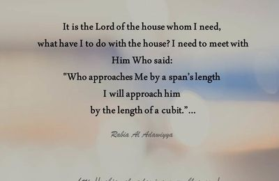 It is the lord of the house whom...