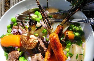 Tajine de veau et légumes printaniers