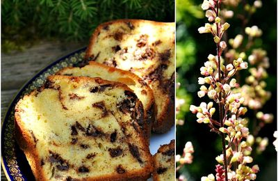 Cake au citron et pépites de chocolat noir
