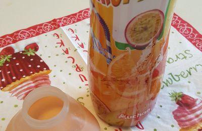 Yaourts à boire goût tropical