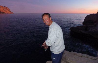 Portrait de pêcheur.