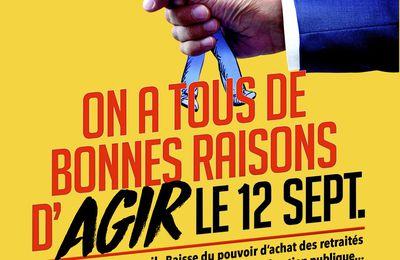 Montpellier et la CGT préparent le 12 septembre !