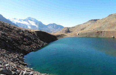 Le Monal, le lac du Clou et le lac Noir.