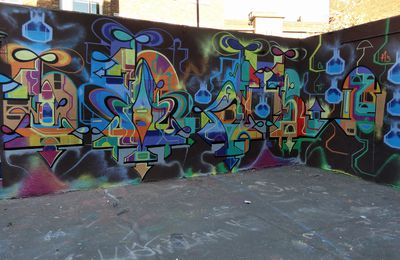 Street Art : Graffitis & Fresques Murales District Stockwell South London