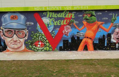 Street Art : Graffitis & Fresques Murales 54528 Toul