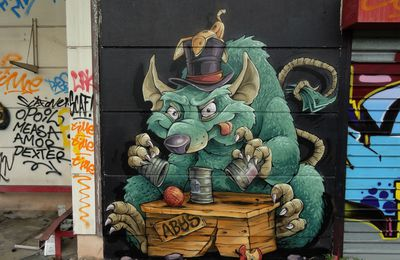 Street Art : Graffitis & Fresques Murales 54395 Nancy