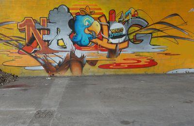 Street Art : Graffitis & Fresques Murales 33032 Bassens