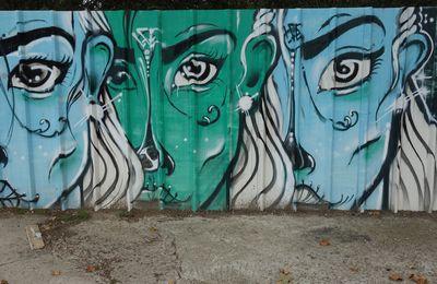 Street Art : Graffitis & Fresques Murales 92004 Asnieres sur seine