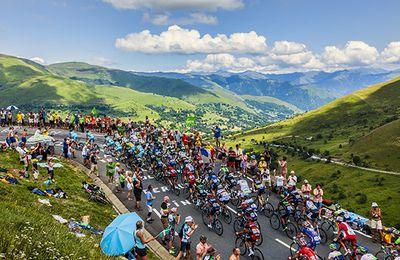 Peyragudes accueille une étape du Tour de France sur l'Altiport 007