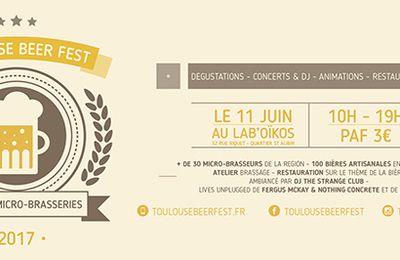 La brasserie artisanale FrogBeer au Toulouse Beer Fest le 11 juin