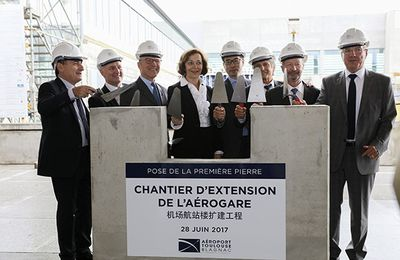 Toulouse Blagnac Airport Expansion Projects: ATB's shareholders lay the foundation stone