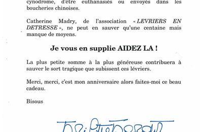 Brigitte Bardot : SOS URGENT !