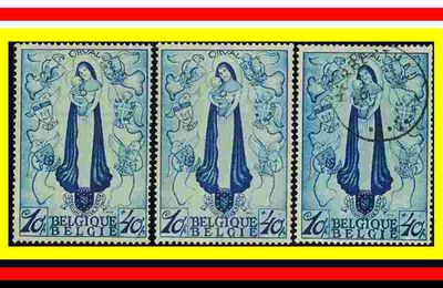 LES TIMBRES ORVAL RARES 1933