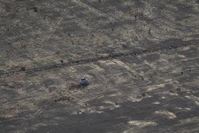 Nouveau test d'ouverture des parachutes le 13 septembre dansleciel d'Arizona.