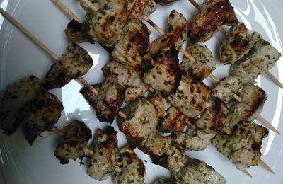 Souvlaki de poulet, ou la Grèce dans l'assiette