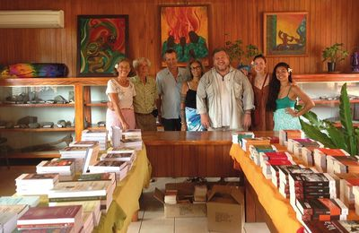 Le député Moetai Brotherson dans la revue Tahiti Pacifique