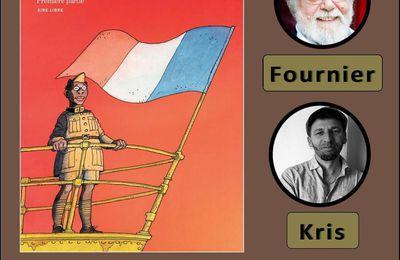 Dédicace de Kris et Jean-Claude Fournier